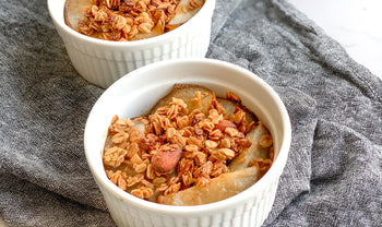 Spiced Asian Pear Crisp Recipe