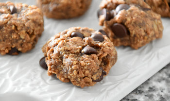 Easy Chocolate Chip Granola Cookies