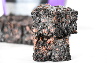 Activated Charcoal Chocolate Chunk Brownies