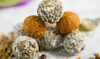 Matcha and Turmeric Superfood Protein Energy Bites