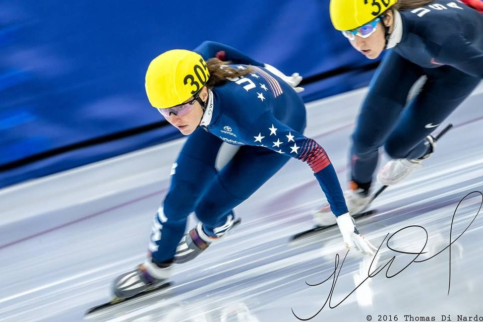 Team USA Speedskater Kimi Goetz On Skating Through Obstacles In The Pursuit Of Gr8ness