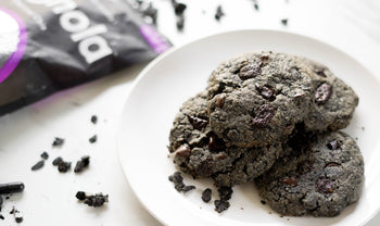 Charcoal Chocolate Chunk Cookies