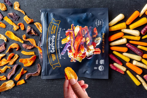 Trader Joe's Organic Dehydrated Carrots of Many Colors
