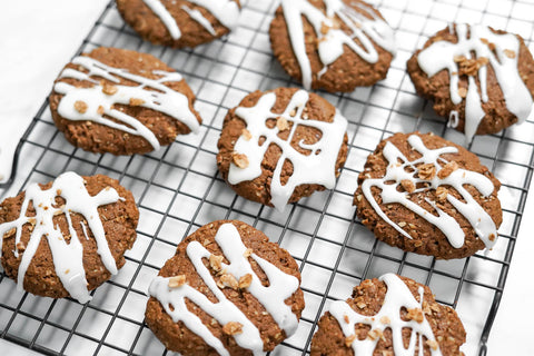 Vegan Cinnamon Chai Cookies, cookie, christmas cookie, recipe, sugar cookie