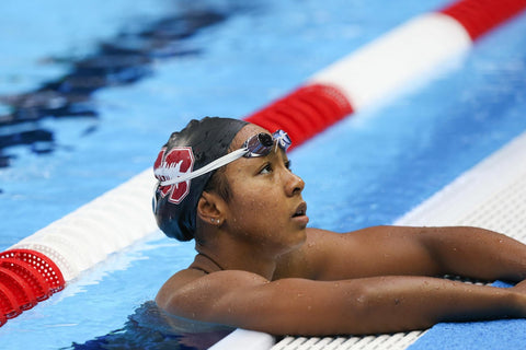 Olympic Medalist Lia Neal Swimming