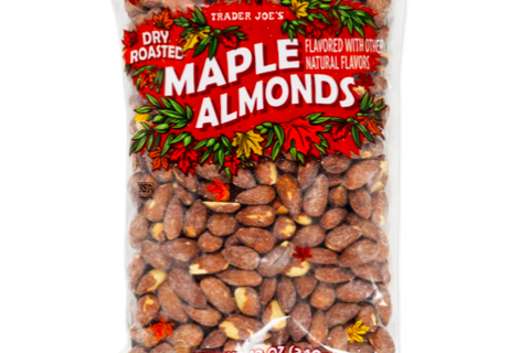 Dry Roasted Maple Almonds