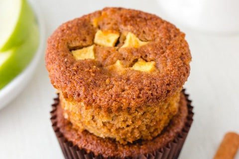 Paleo Apple Muffins by Texanerin Baking