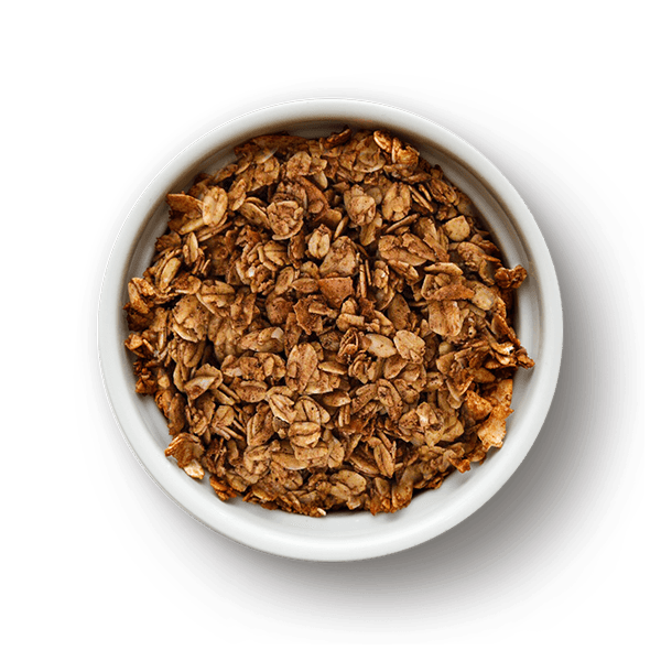 Bowl of Cinnamon Chai Superfood Granola