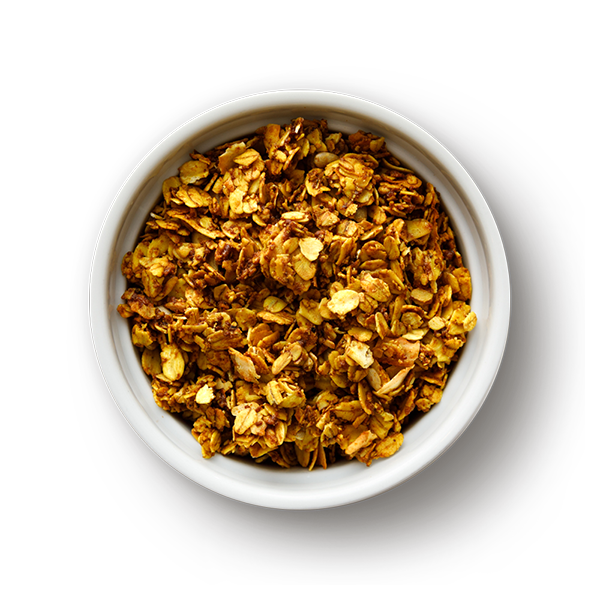 Bowl of Golden Spice Superfood Granola