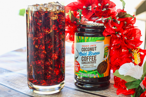 Our 8 Favorite Trader Joe's Summer Finds - Coconut Cold Brew Coffee