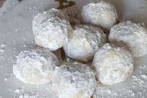 The edgy veg -Snowball Cookies
