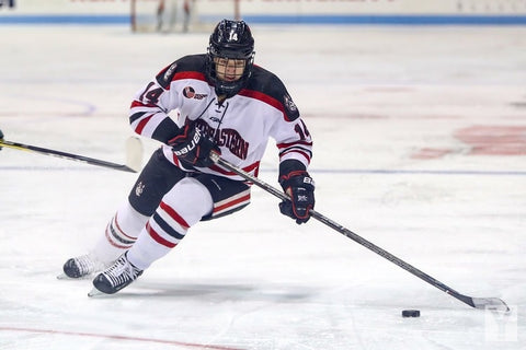 USA Hockey, NWHL, NCAA Northeastern Women's Ice Hockey Player Hayley Scamurra