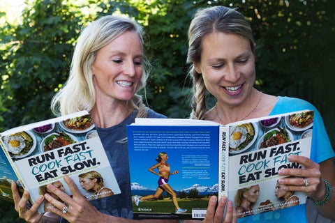 Run Fast. Cook Fast. Eat Slow: Quick-Fix Recipes for Hangry Athletes by Shalane Flanagan and Elyse Kopecky