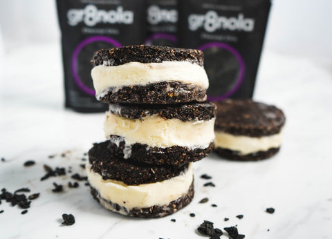 Oreo Nice Cream Sandwiches