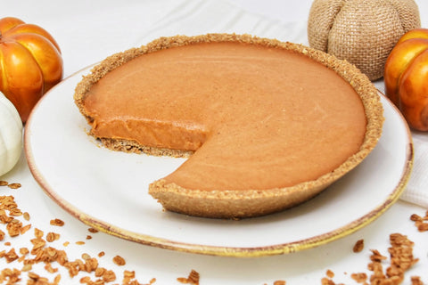 Healthy Superfood Vegan Pumpkin Pie Recipe