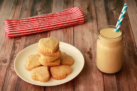 Loving It Vegan,  Small-Batch Vegan Shortbread Cookies, cookie, christmas cookie, recipe, sugar cookie