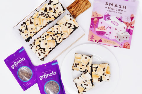 Gr8nola Coco Cacao S'mors Bars with Smashmallow