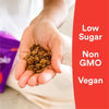 Non-GMO, Vegan and Low Sugar
