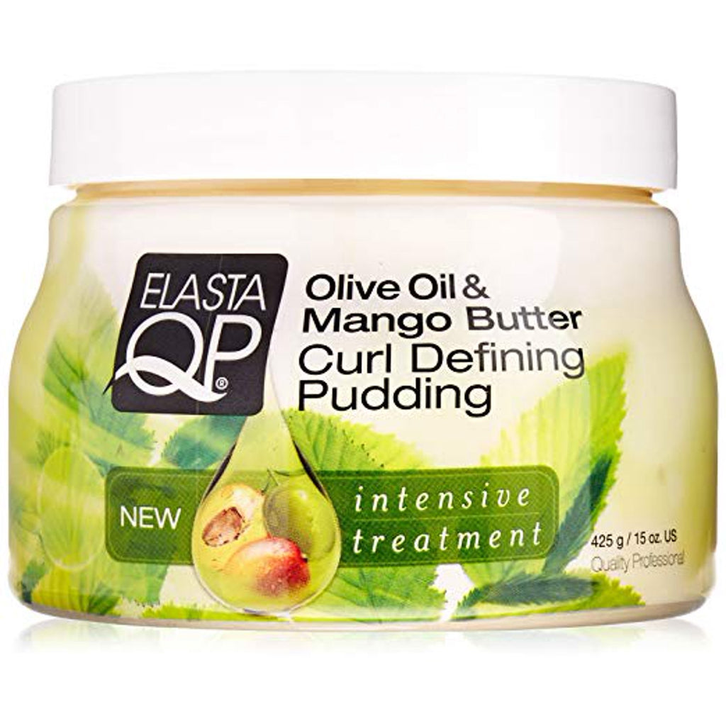 Elasta QP Olive Oil and Mango Butter Curl Defining Pudding