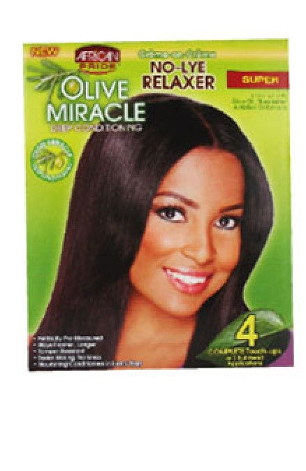 Olive Miracle Relaxer - Super