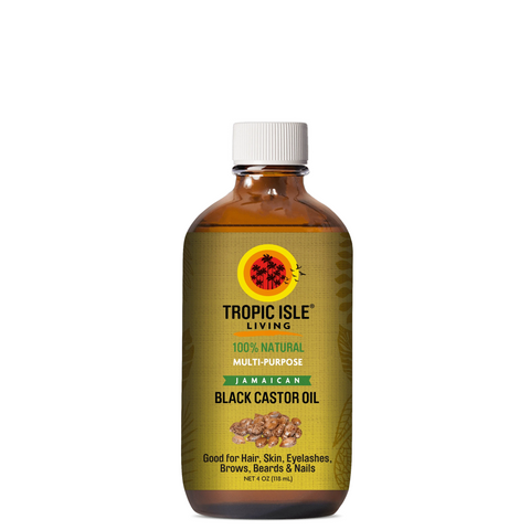 Tropic Isle Living Jamaican Black Castor Oil 4 oz