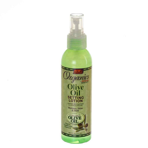 Africa's Best Organics Olive Oil Setting Lotion 6oz