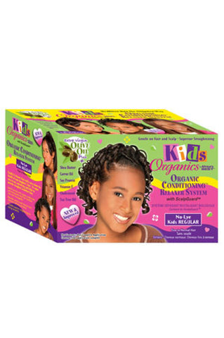 Kid's Organics By Africa's Best Organic Conditioning Relaxer System - Regular