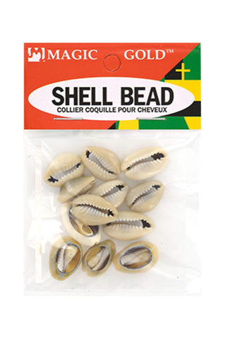 Magic Gold Shell Bead (Dark Ivory)