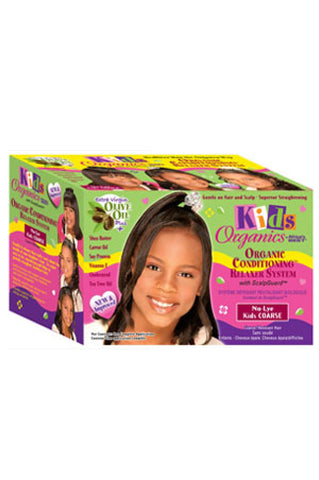 Kid's Organics By Africa's Best Organic Conditioning Relaxer System - Coarse
