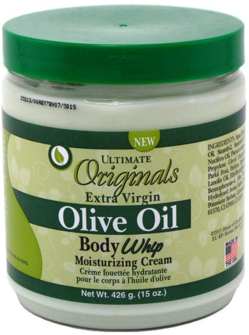 Ultimate Organic by Africa's Best Extra-virgin Olive Oil Body Whip Cream