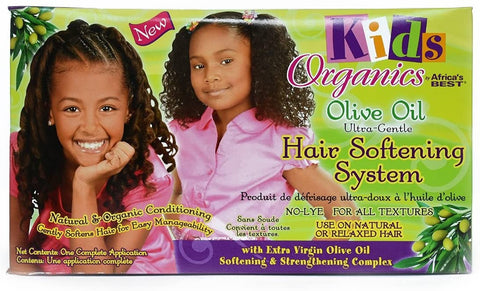 Kids Organic by Africa's Best Hair Softening System