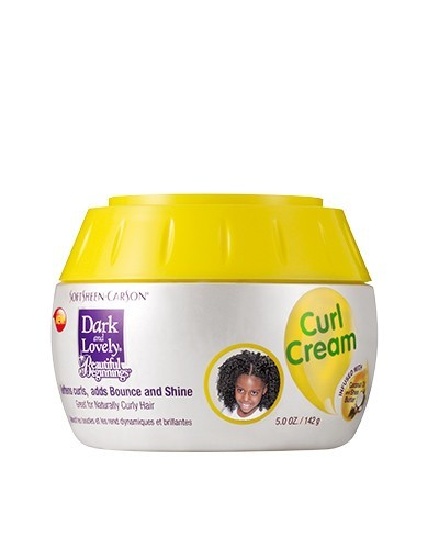 Dark and Lovely Beautiful Beginnings CURL CREAM 5oz