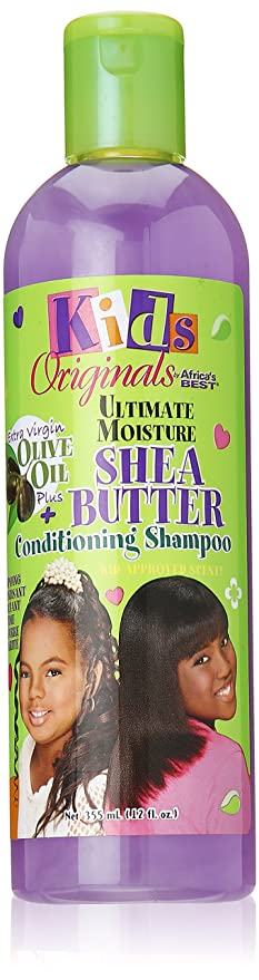Kid's Organics by Africa's Best Shea Butter Conditioning Shampoo