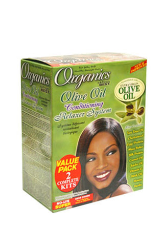 AFRICA'S BEST Olive Oil Relaxer - Value Pack (Super)