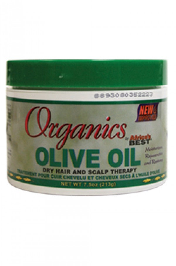 Olive Oil Dry Hair and Scalp Therapy