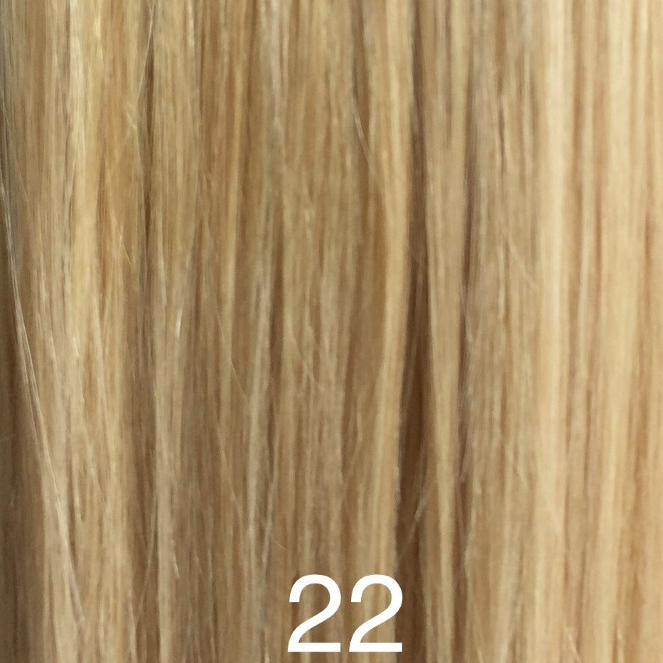 Square Tip Hair Fusion Extensions 18 K Laba