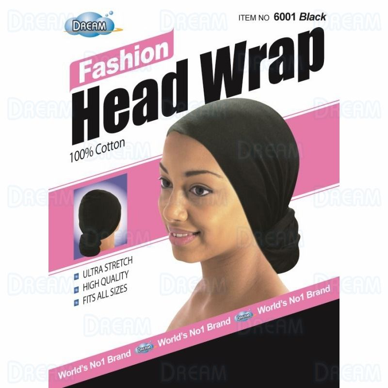 DREAM WOMENS HEAD WRAP Black