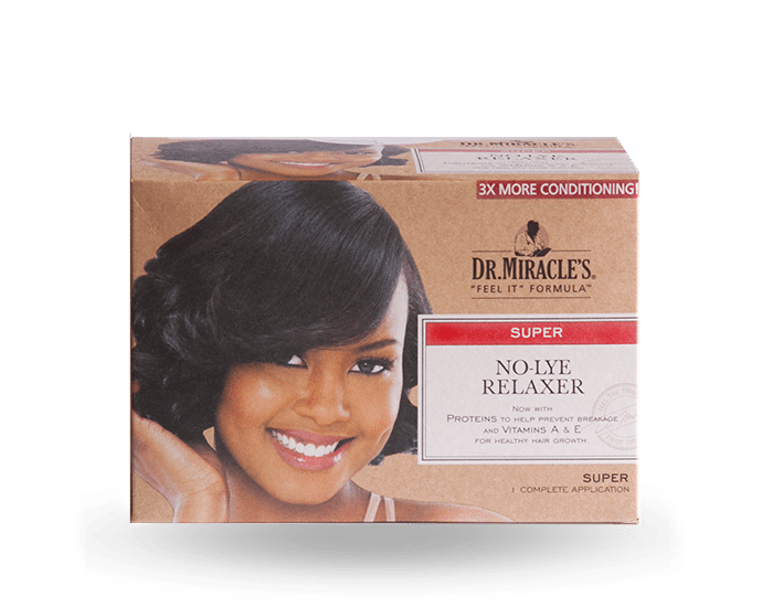 Dr. Miracle's No Lye Relaxer Super Kit