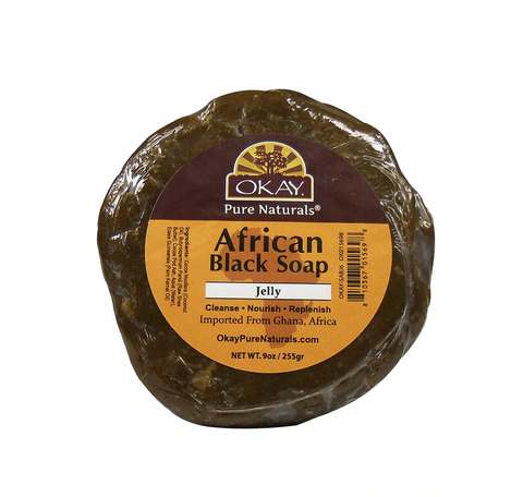 Okay African Black Soap