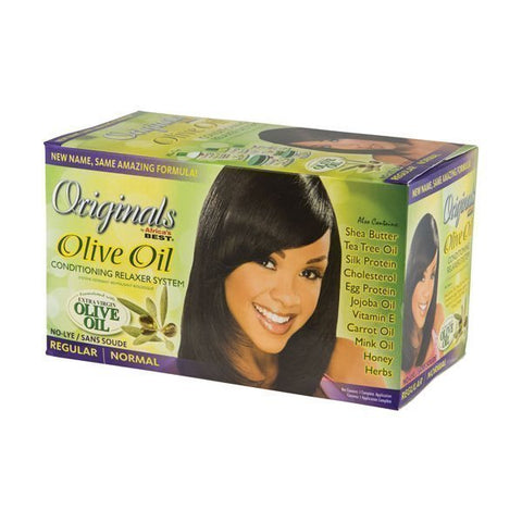 Originals by Africas's Best Olive Oil Relaxer Kit