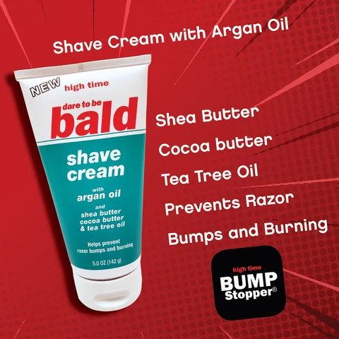 High Time Dare to be blad Shave Cream