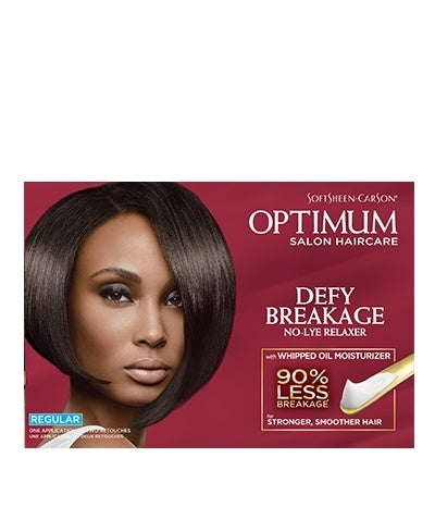 Optimum salon haircare relaxer regular strength