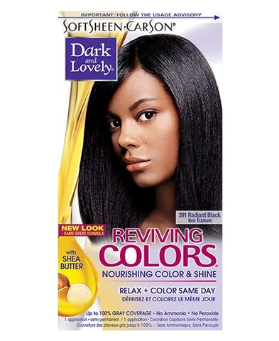Dark and Lovely Reviving Colors Hair Color Kit