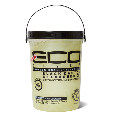 ECO STYLE black castor & flaxseed gel