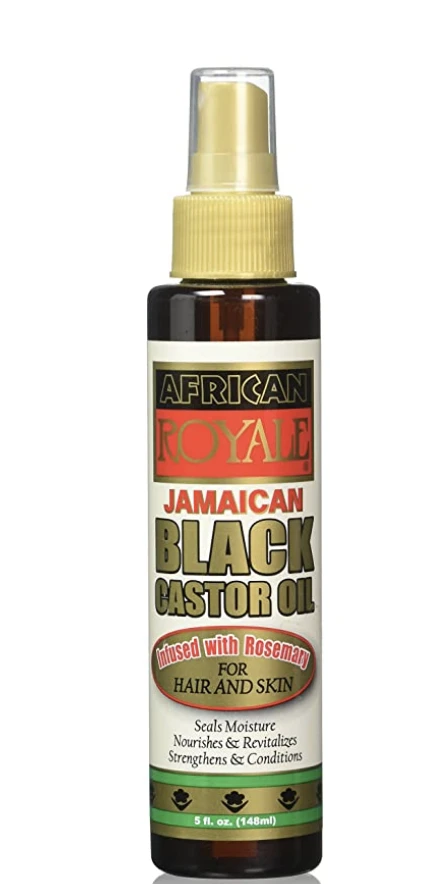 African Royale Jamaican Black Castor Oil 5oz