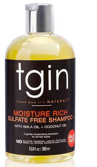 TGIN Sulfate Free Shampoo for Natural Hair