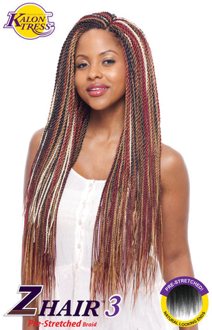 Vanessa Zhair 3 braid 54""