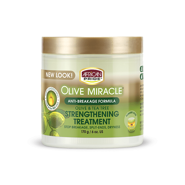 African Pride Olive Miracle Strengthening Treatment
