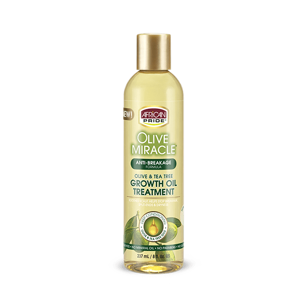 African Pride Olive Miracle Anti-Breakage Oil 8 oz