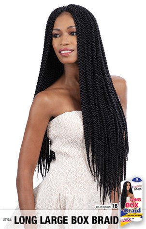 Long Large Box Braid
